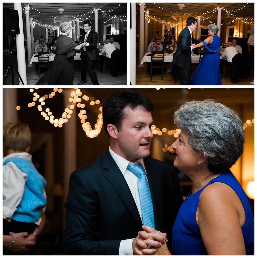 Maine Wedding Photographer Harpswell Mother Son Dance