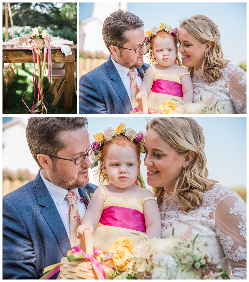 Maine Wedding Photographer Pemaquid Point Lighthouse Flower Girl