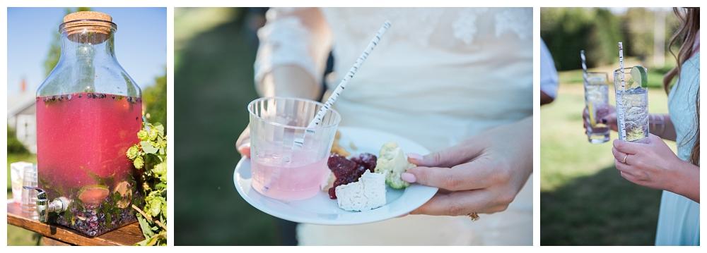 Maine Wedding Photographer The Bradley Inn New Harbor Cocktail Hour
