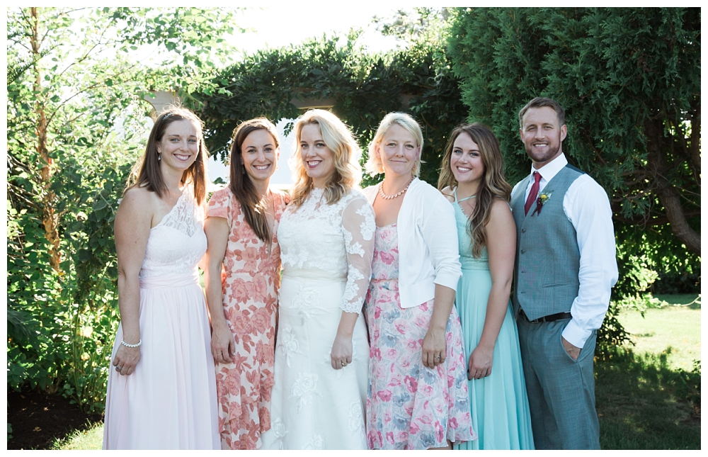 Maine Wedding Photographer The Bradley Inn New Harbor Group Photos