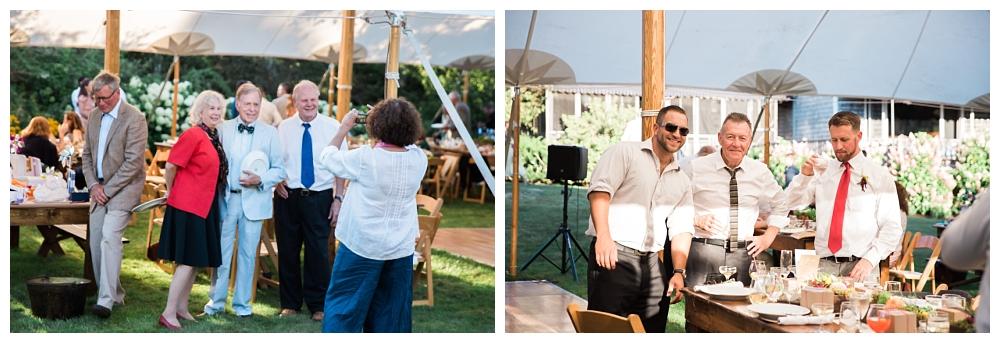 Maine Wedding Photographer The Bradley Inn New Harbor Reception