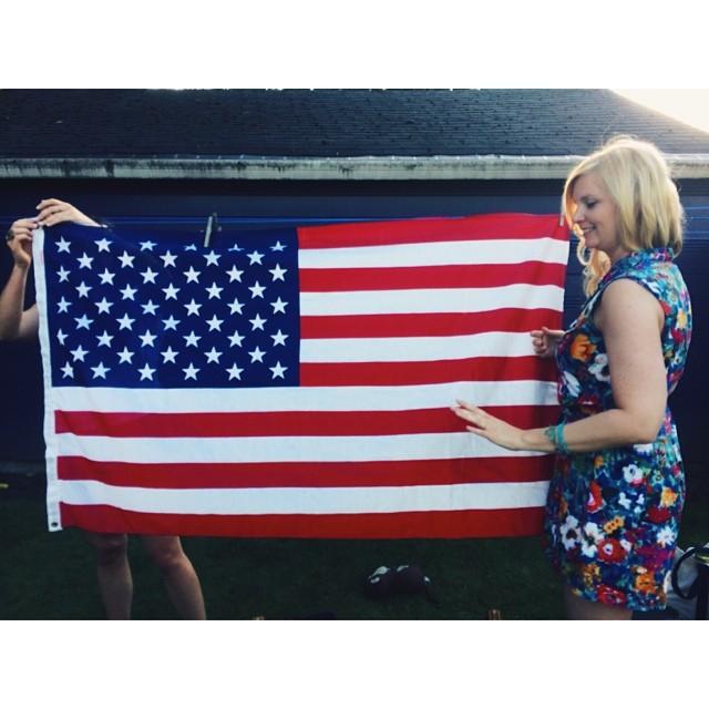 Really really American girls.