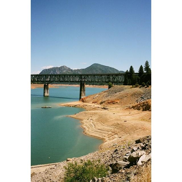 All this California film.  Lake Shasta. Leica M6, Ektar 100.