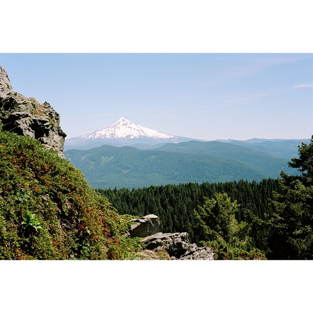 Mt. Hood from Sherrard Point.  Leica M6, Ektar 100.