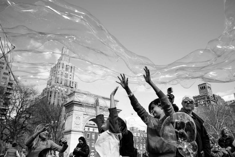Washington Square Park, April 2014