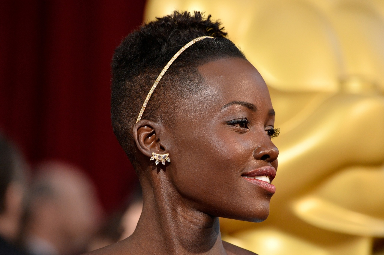 Lupita Nyong'o in Fred Leighton jewelry