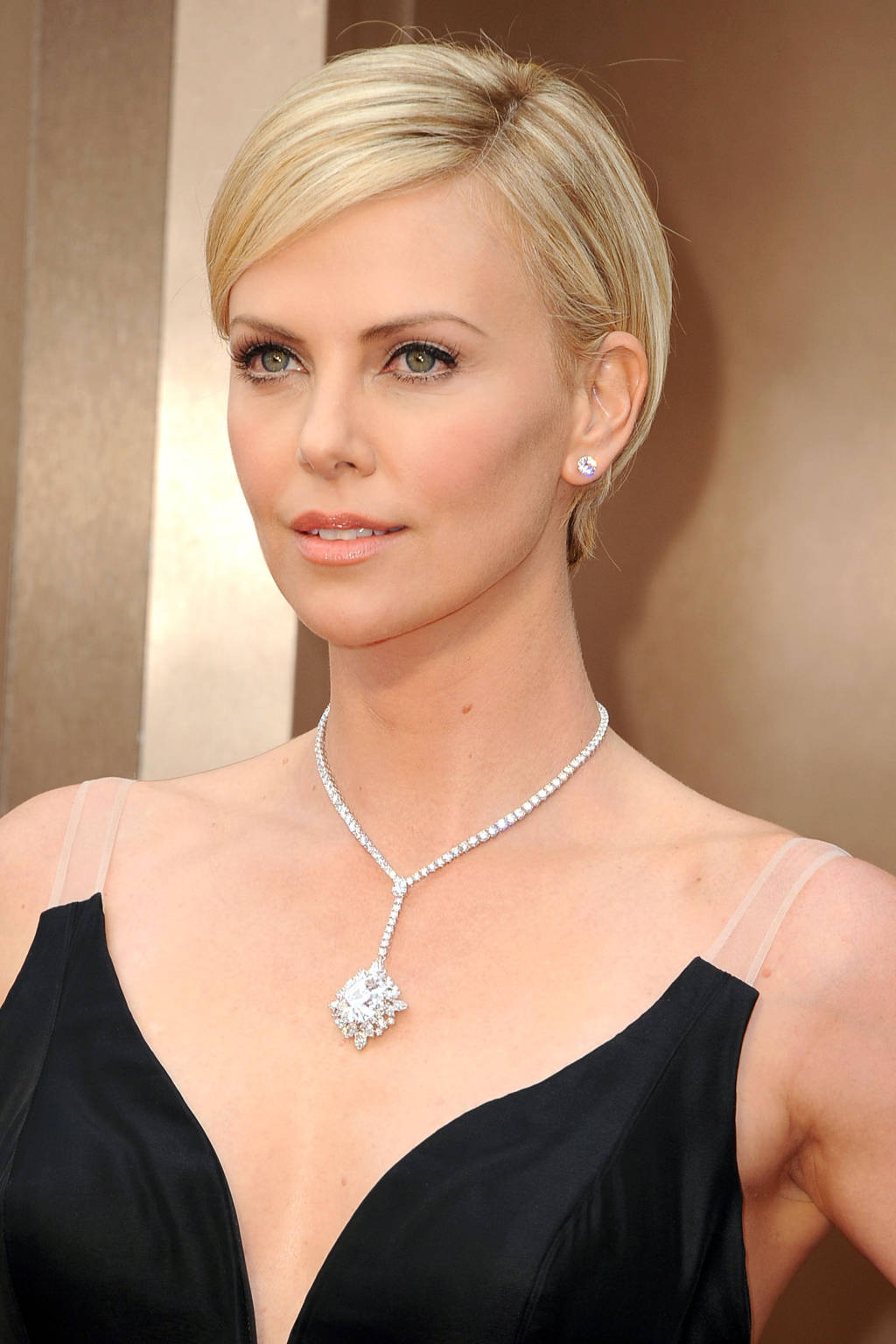Gorgeous Charlize Theron in Harry Winston