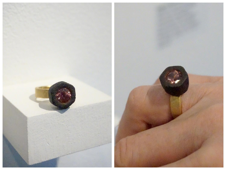 The tourmaline ring
