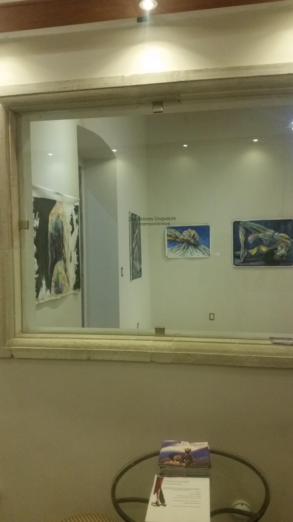 Espacio galería después restauración.