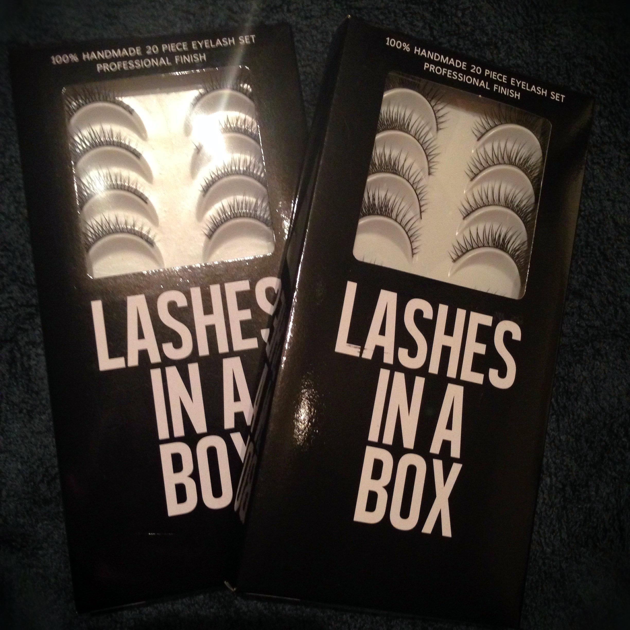 Lashes In A Box #10 & #11