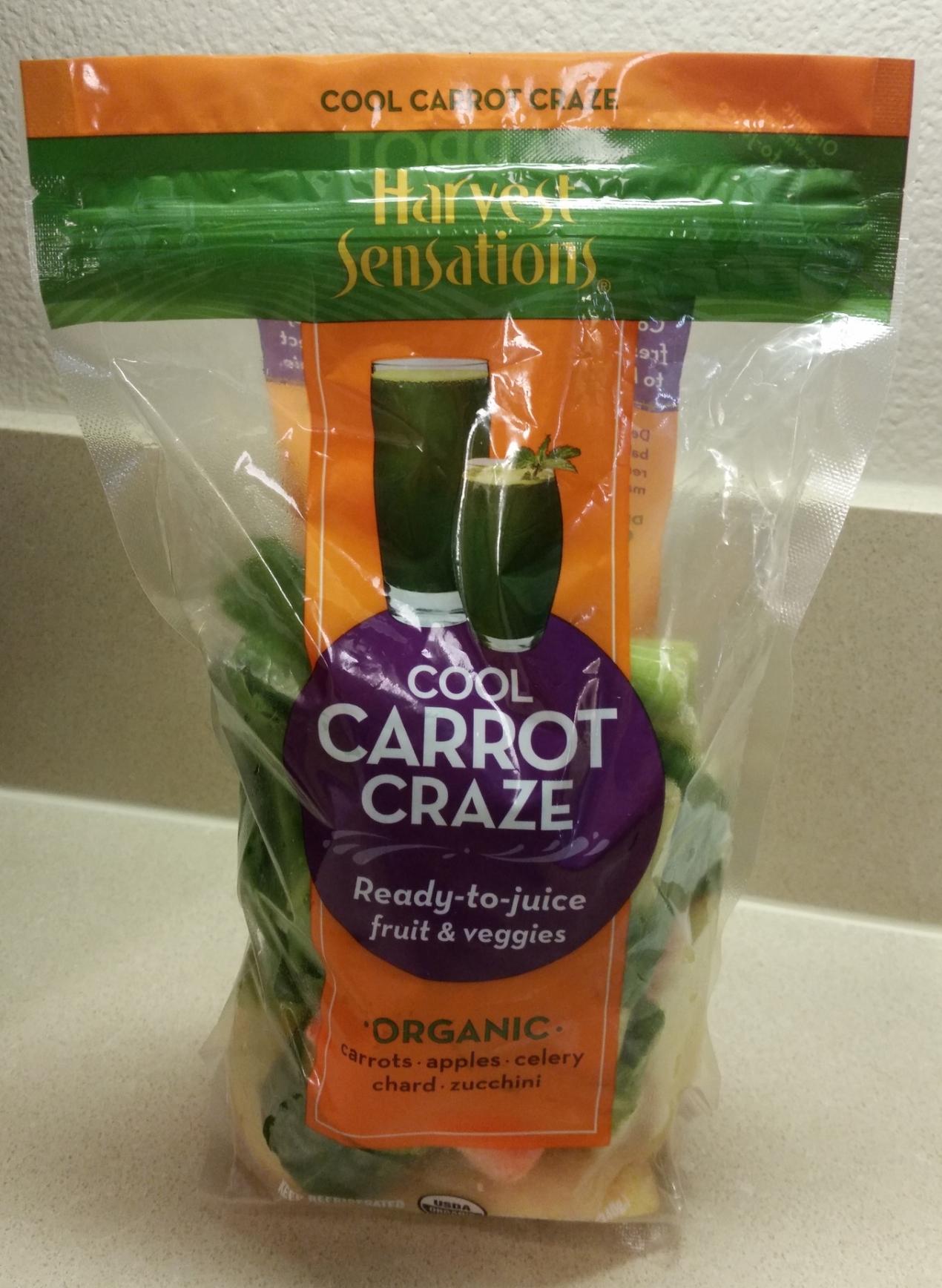 Harvest Sensations Cool Carrot Craze