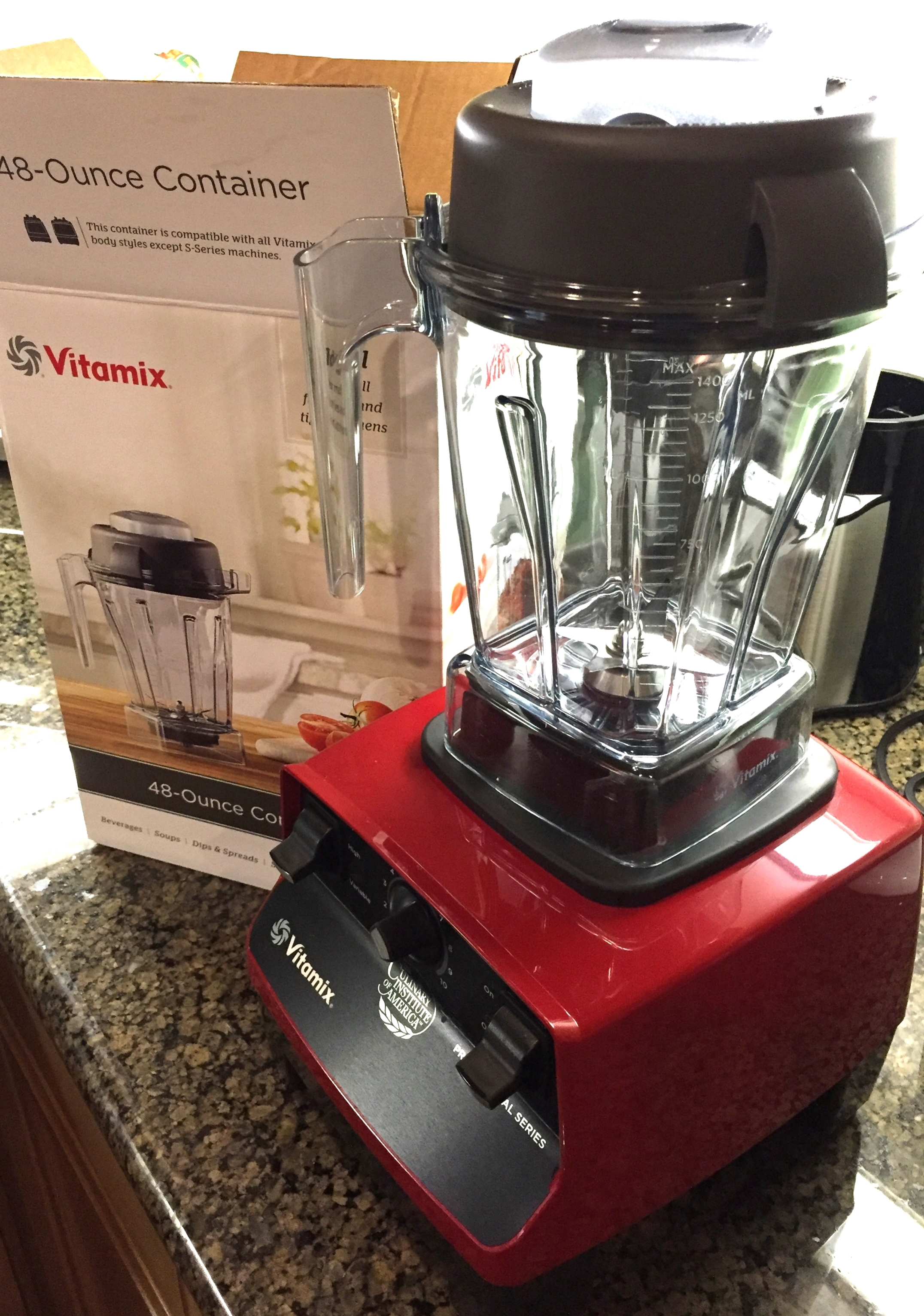 Vitamix 48 Once Container | Beauty and the Drink