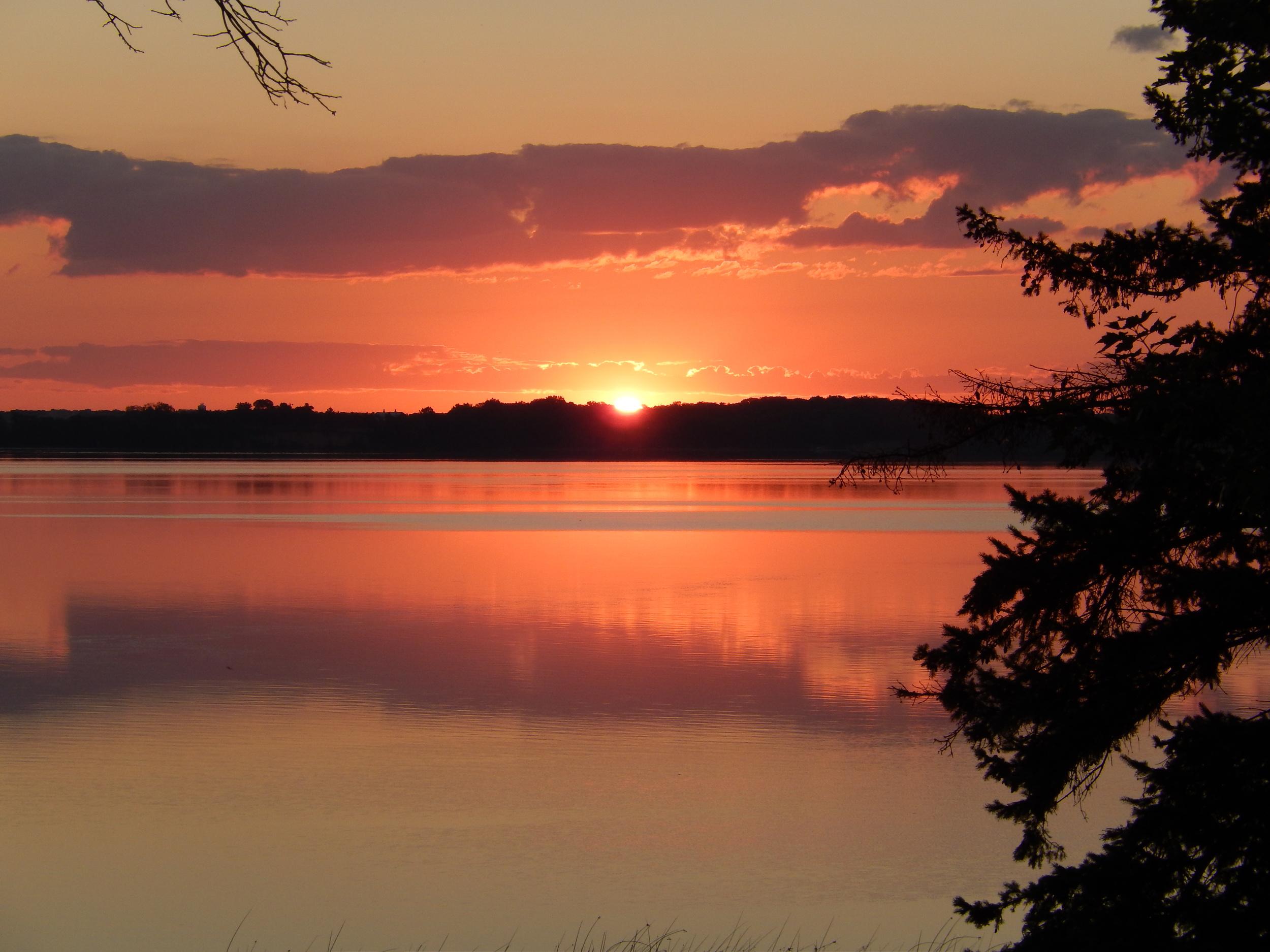 Sunset Over Lake Waconia