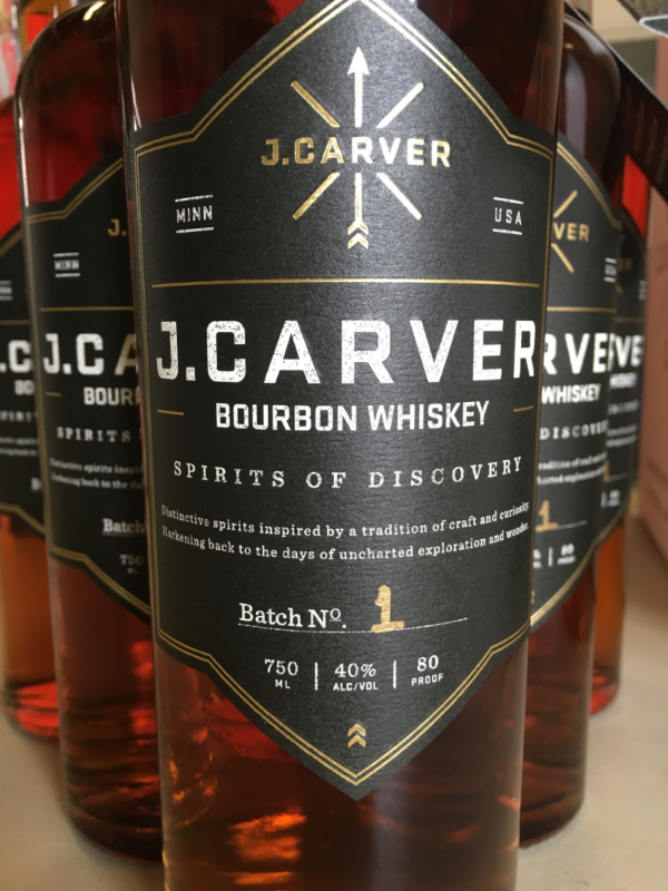 J. Carver Bourbon Whiskey Batch No. 1