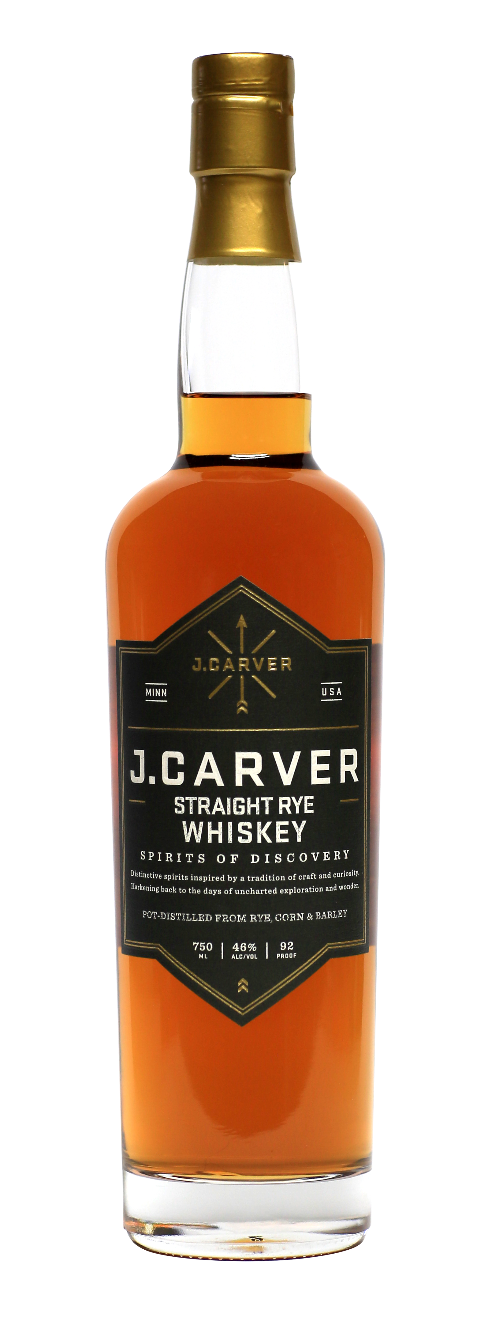 J Carver Straight Rye Whiskey.png