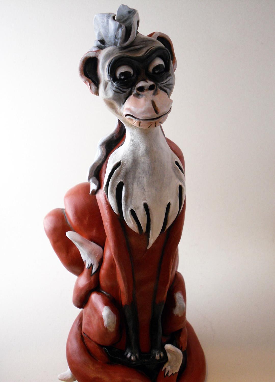 Nine Tailed Monkey Fox
