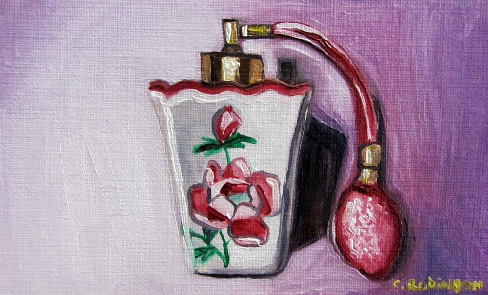 Rose Perfume Atomizer