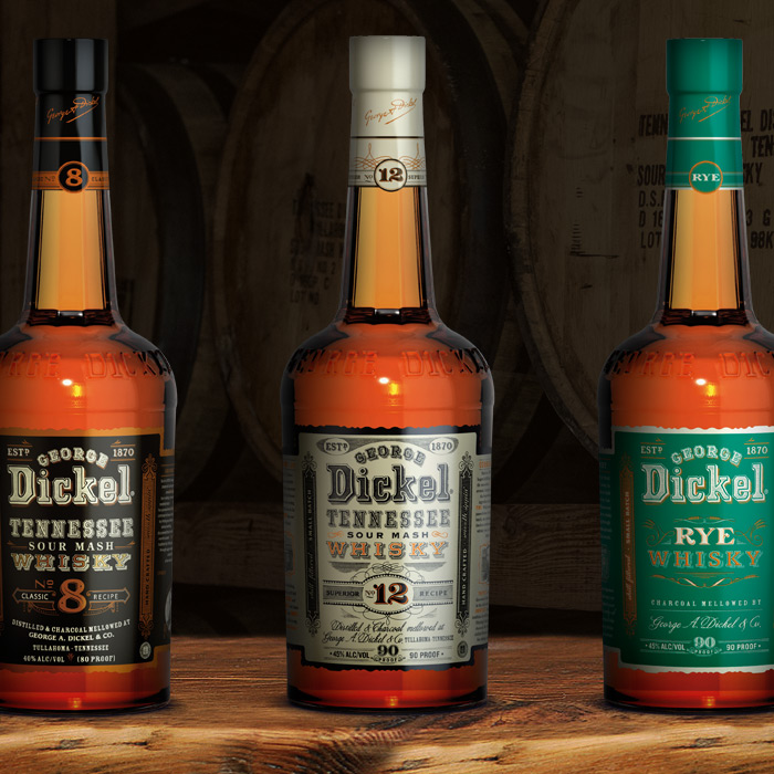 —GEORGE DICKEL WHISKY -
