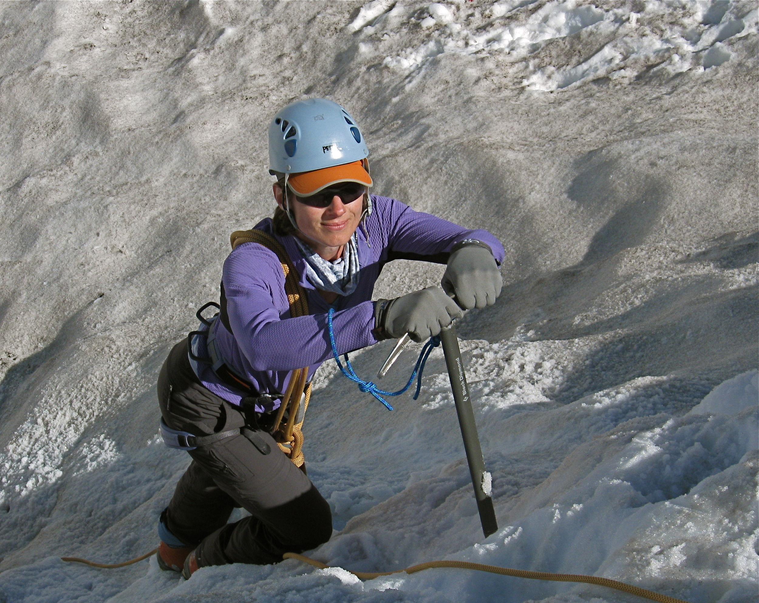 Training on Mt Rainier