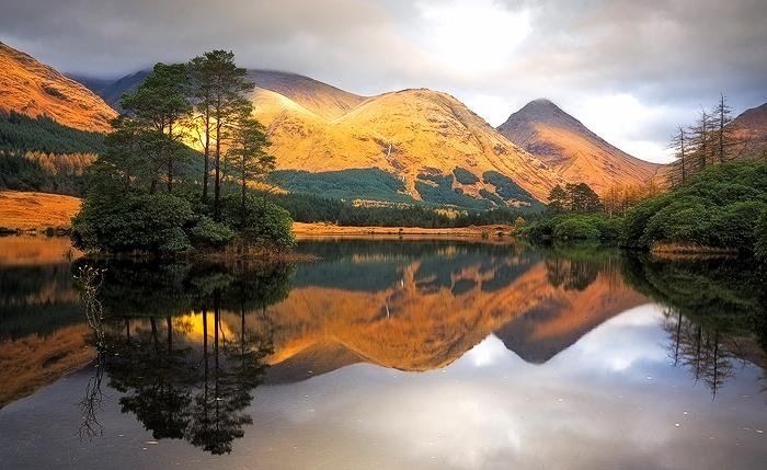 Glen Etive, Western Highlands, Scotland.