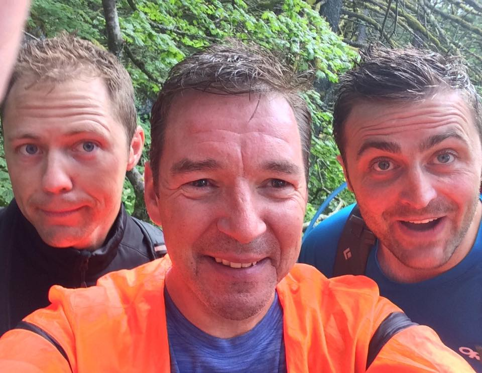 tired,dirty and having fun. we did it!