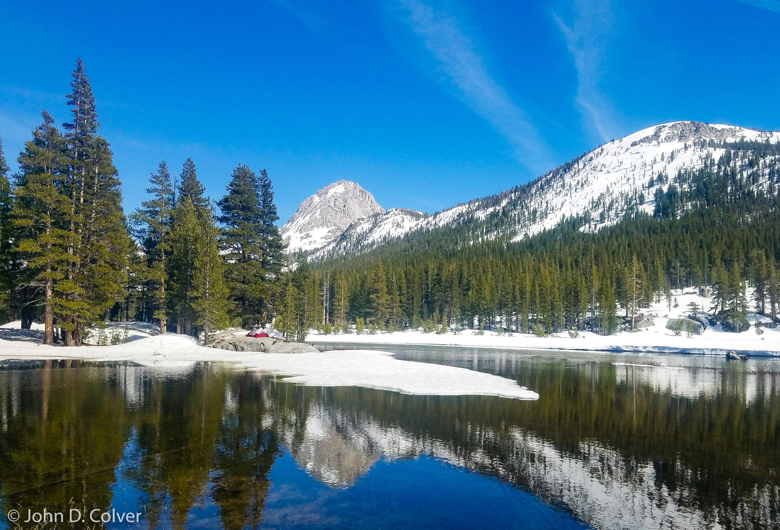 """Evolution Basin, Sierra Nevada May 2018    Price $500    Available in image sizes up to 24x16"""""""