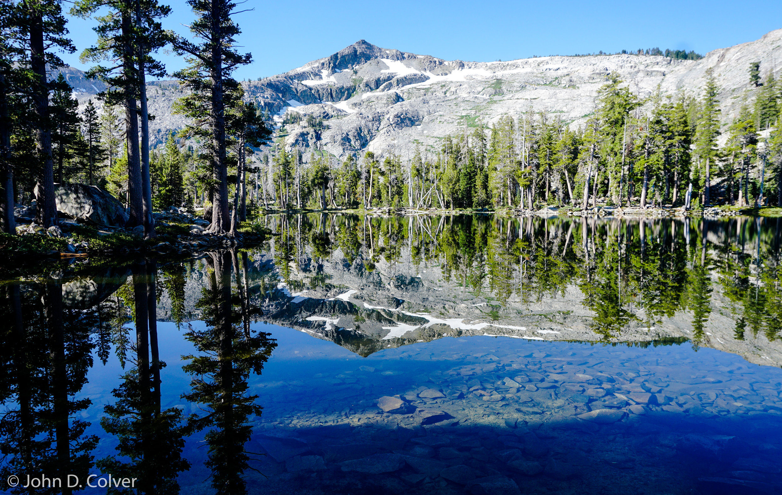 """Tamarak Lake, Desolation Wilderness. August 2018    Price $500    Available in image sizes up to 38x30"""""""