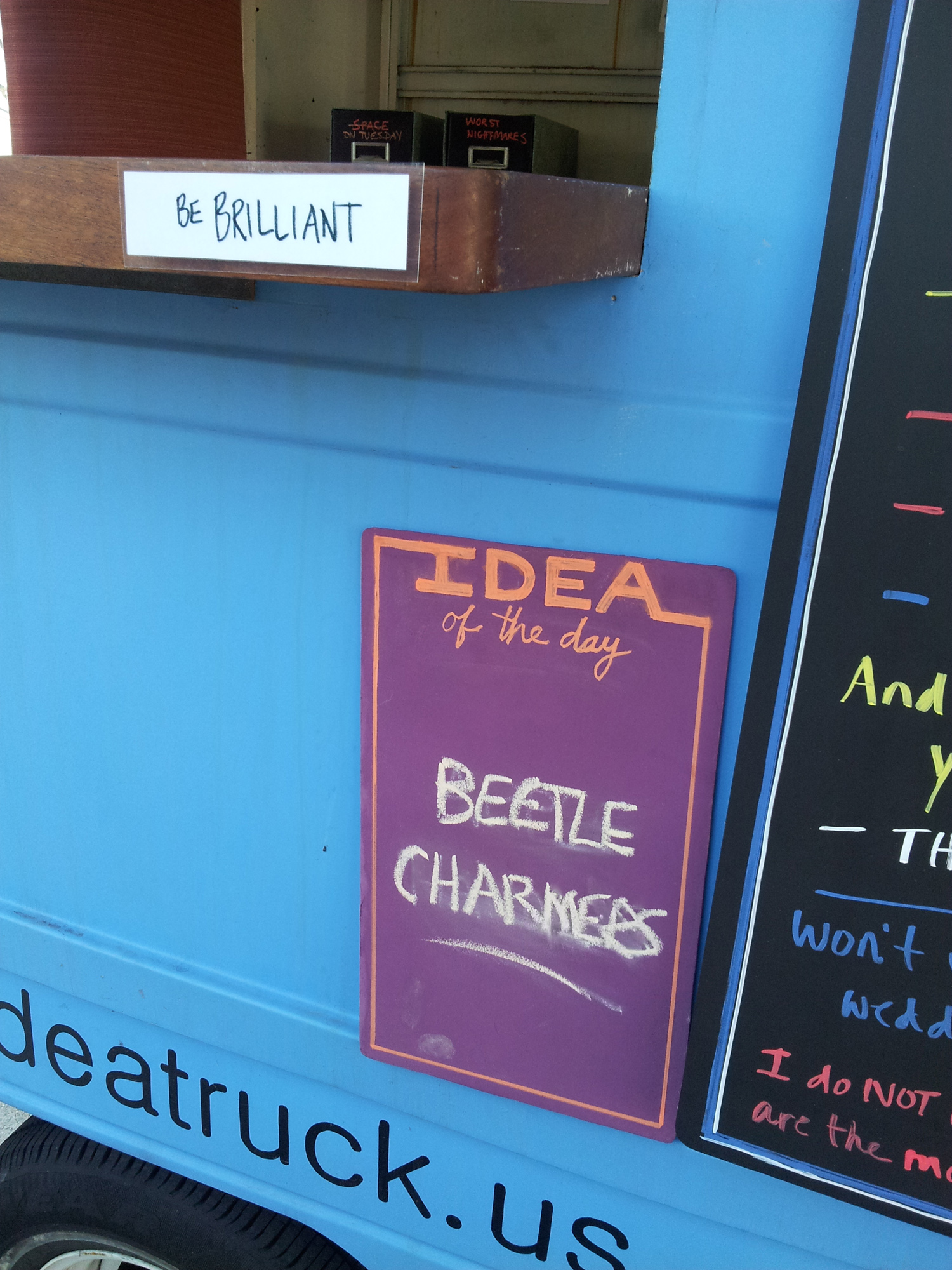 Idea Truck signage - beetle charmers.jpg