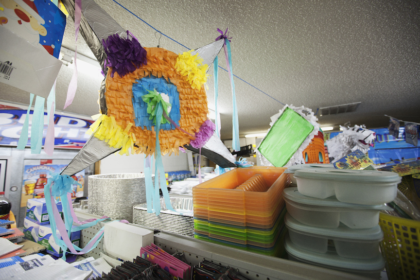 Google: Traditional Piñata. 2011. Carboard, paper & glue.