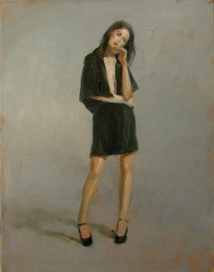 Standing Mona