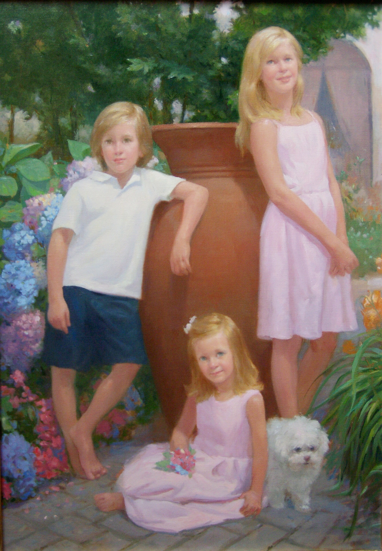 Triple Portrait