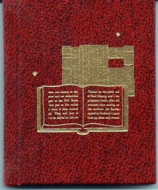 The handsomely gold stamped cover to the 1982 edition of  An Essay on Limited Editions .