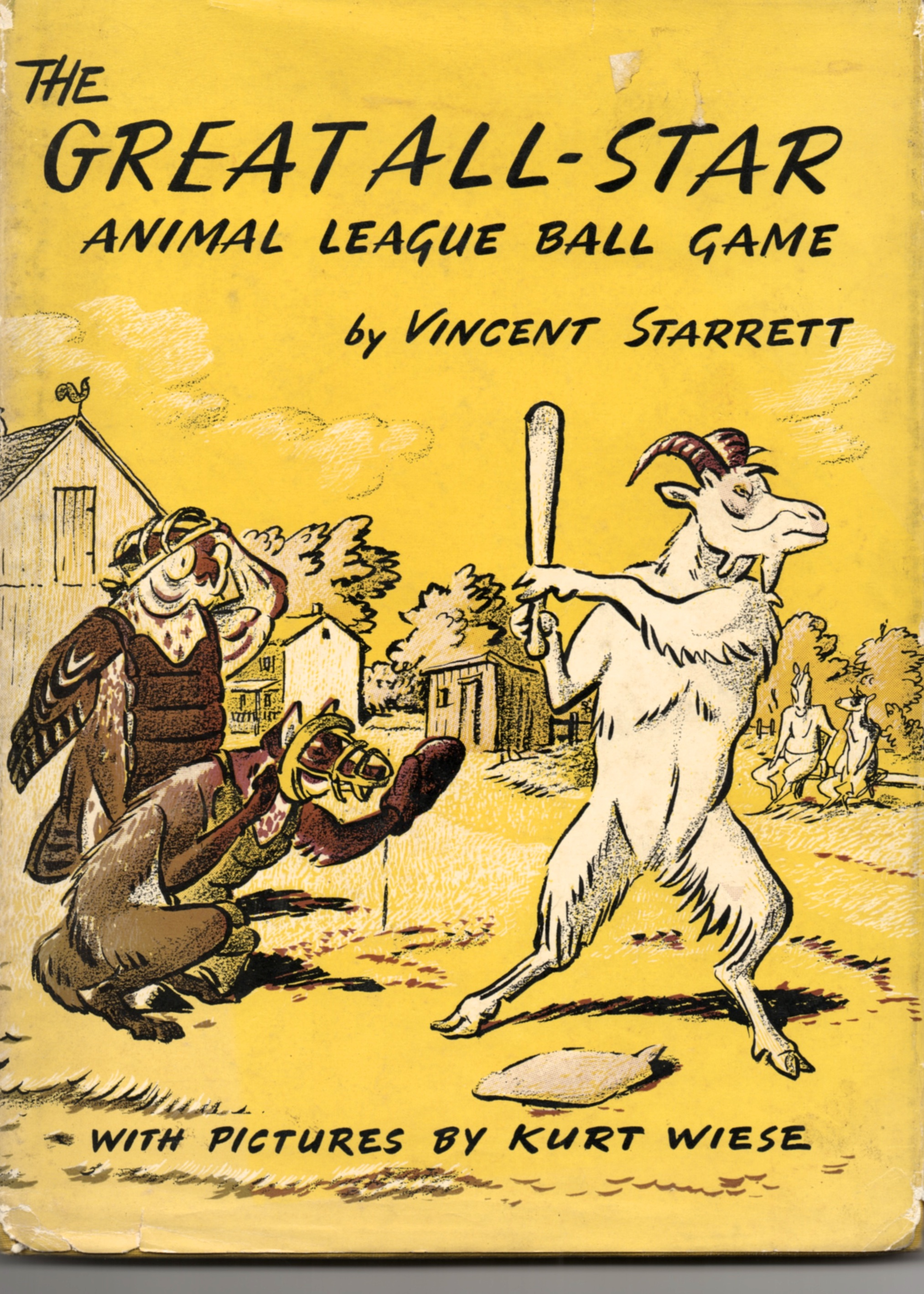 The dust jacket to Starrett's only juvenile story, published in 1957.
