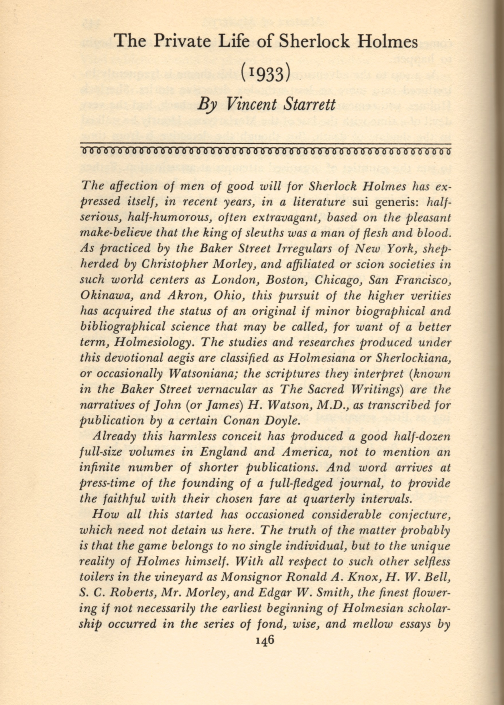 The first of the two-page introduction of Starrett's chapter.