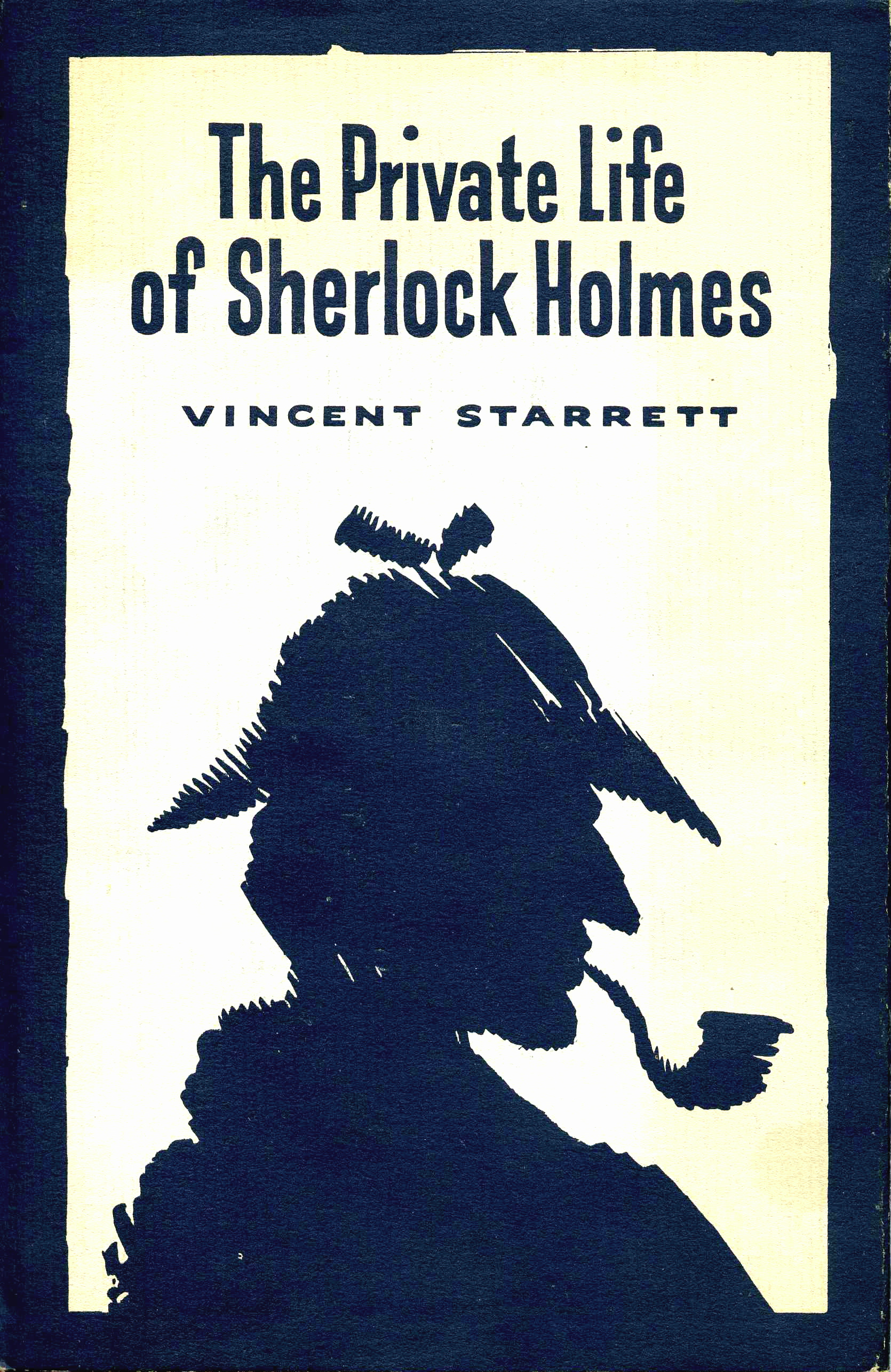 The alternative dust jacket to the 1960 edition of Starrett's classic.