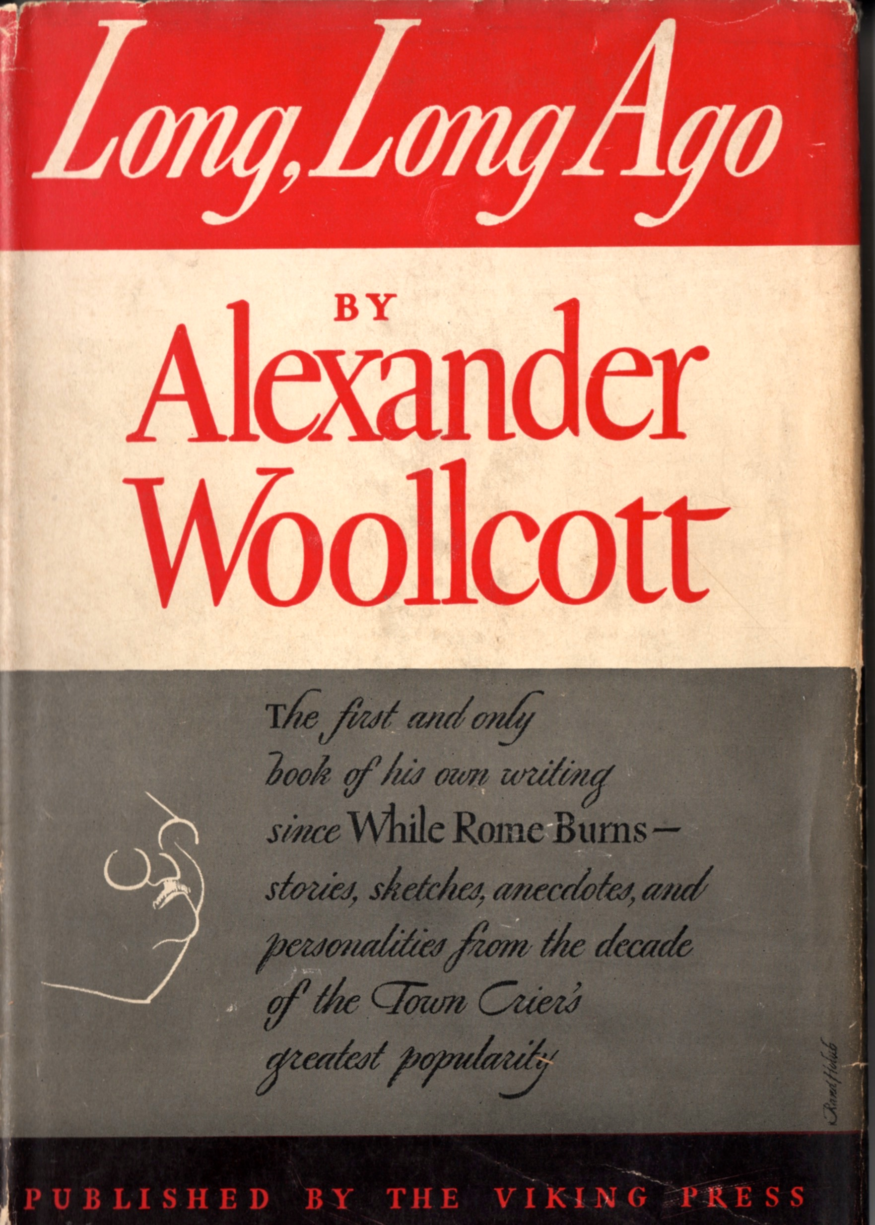 Woollcott's account of the first BSI dinner can be found in this book, published by Viking Press in 1943.