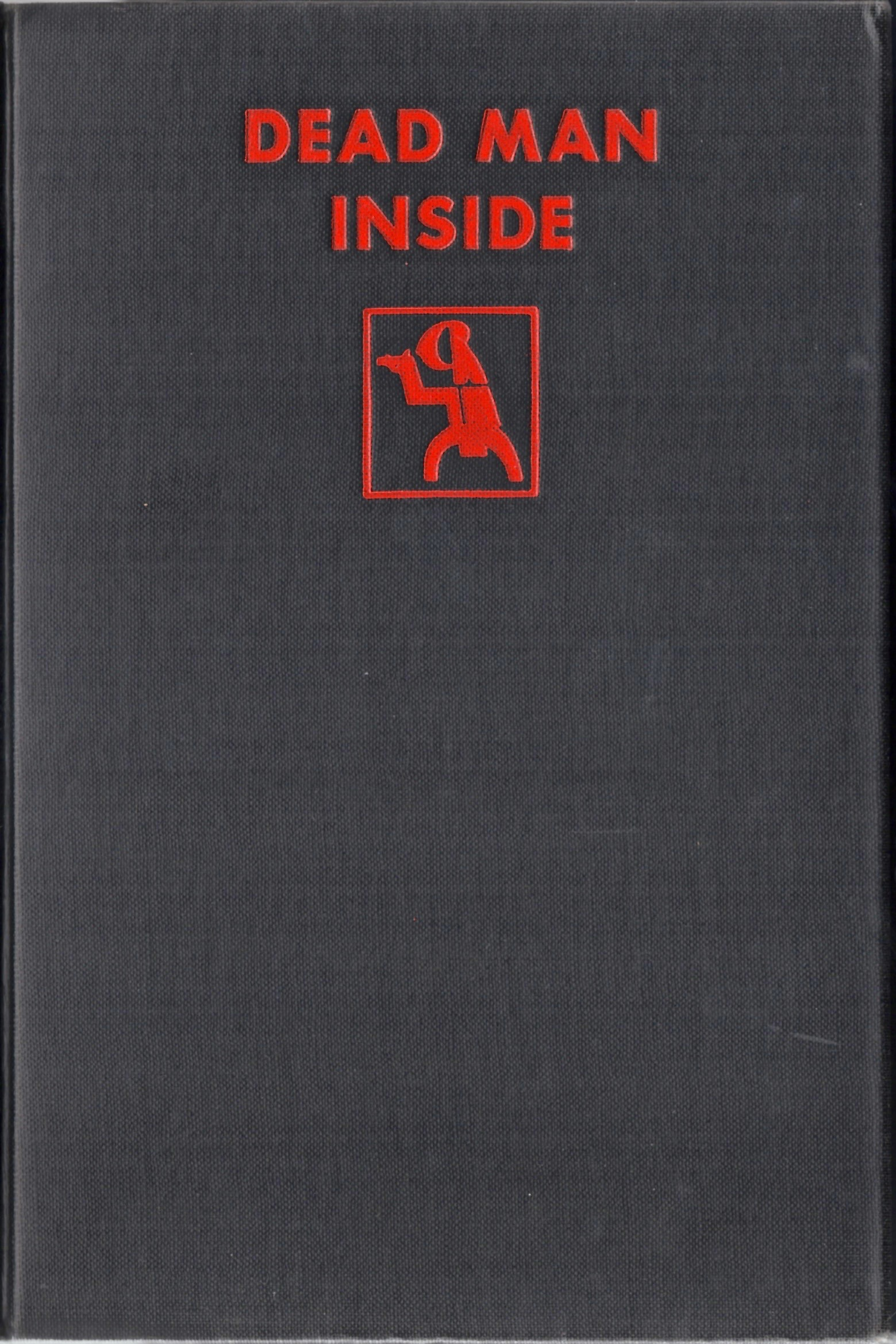The cover of Starrett's 1931 mystery featuring Walter Ghost. Notice the Crime Club logo, which you can see in greater detail on the endpapers, reproduced below.