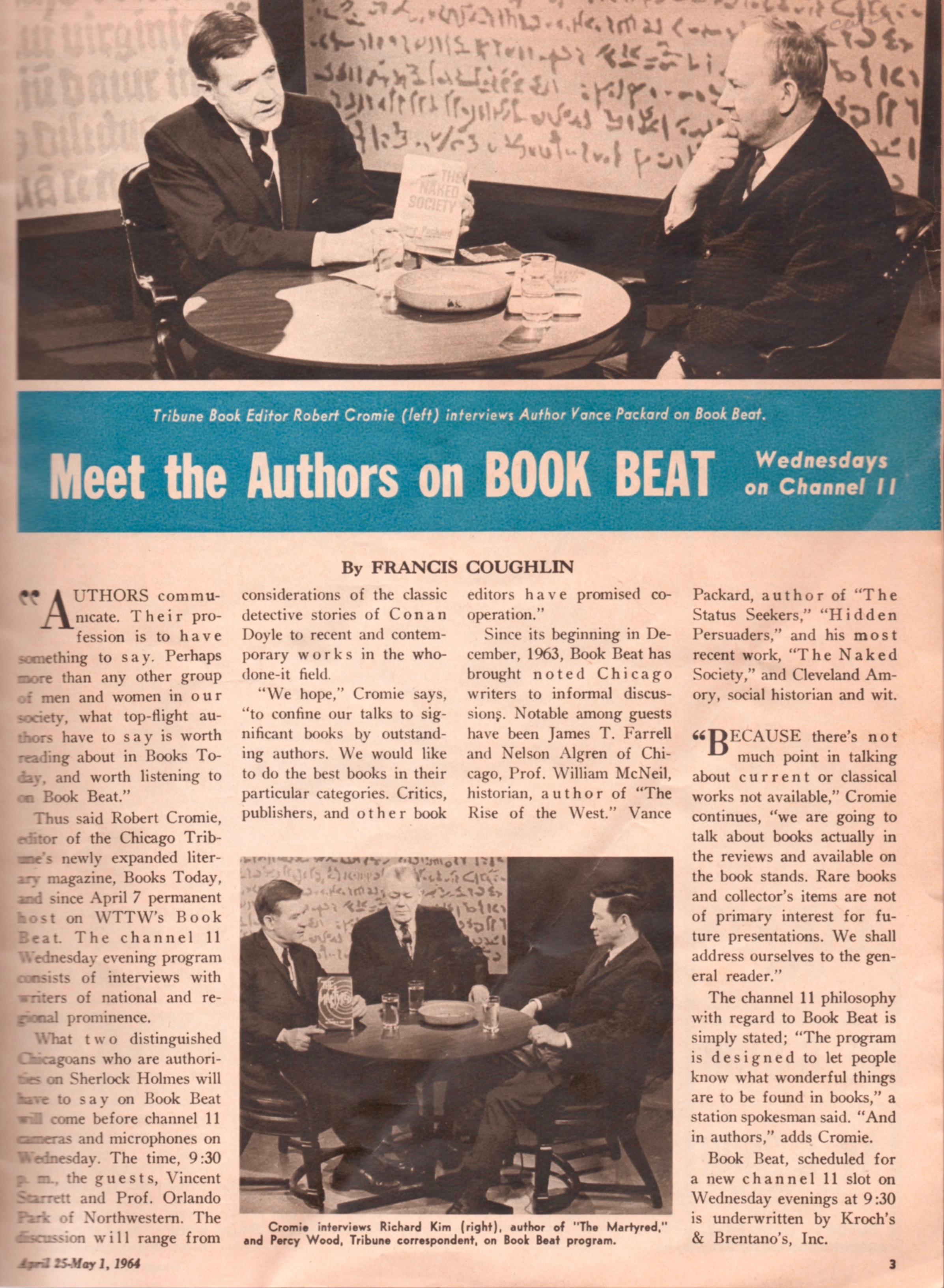 """Notice the studio backdrop to """"Book Beat"""" and compare it with the background in the Starrett photograph above."""