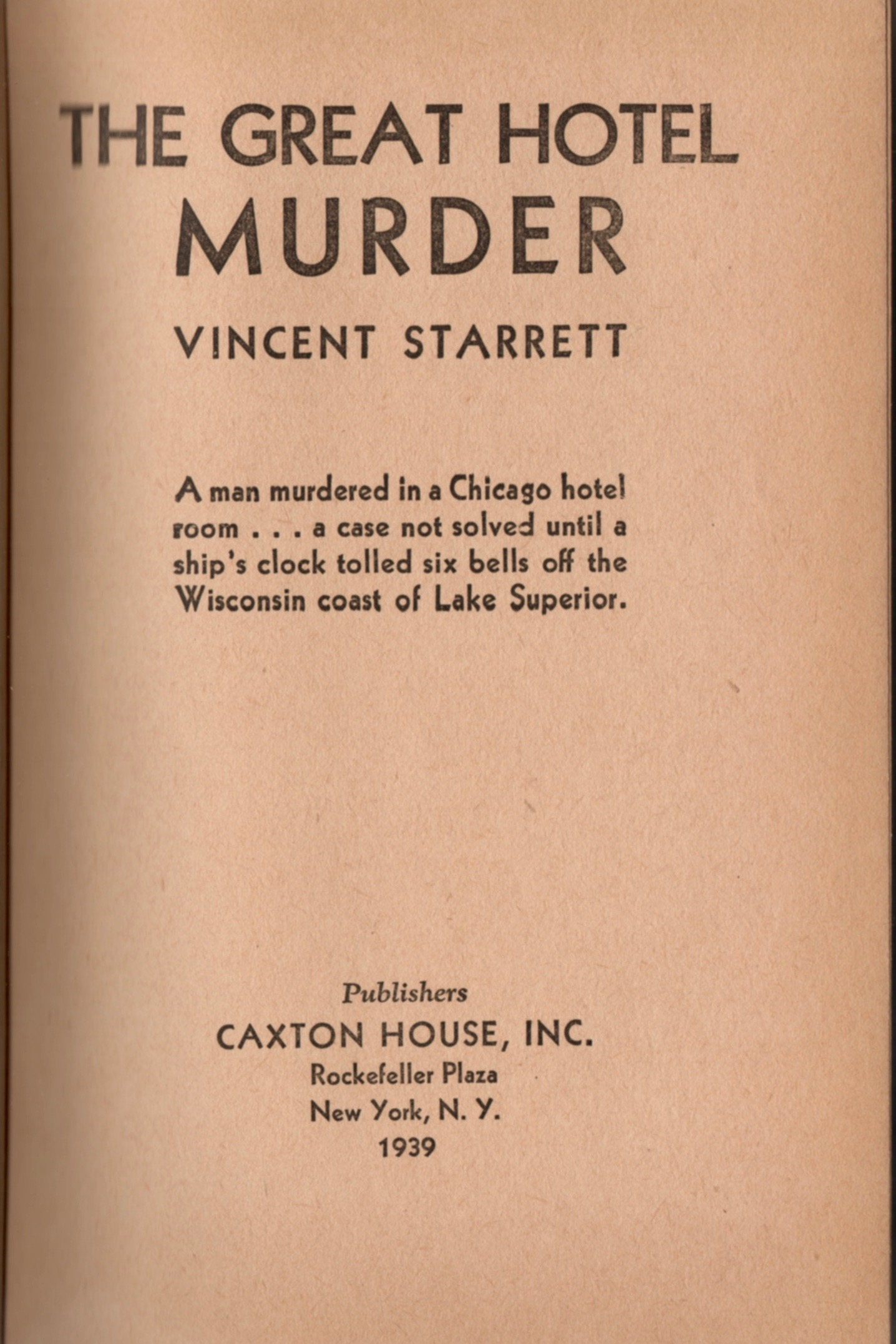 Great HotelCaxton House Title page.jpg