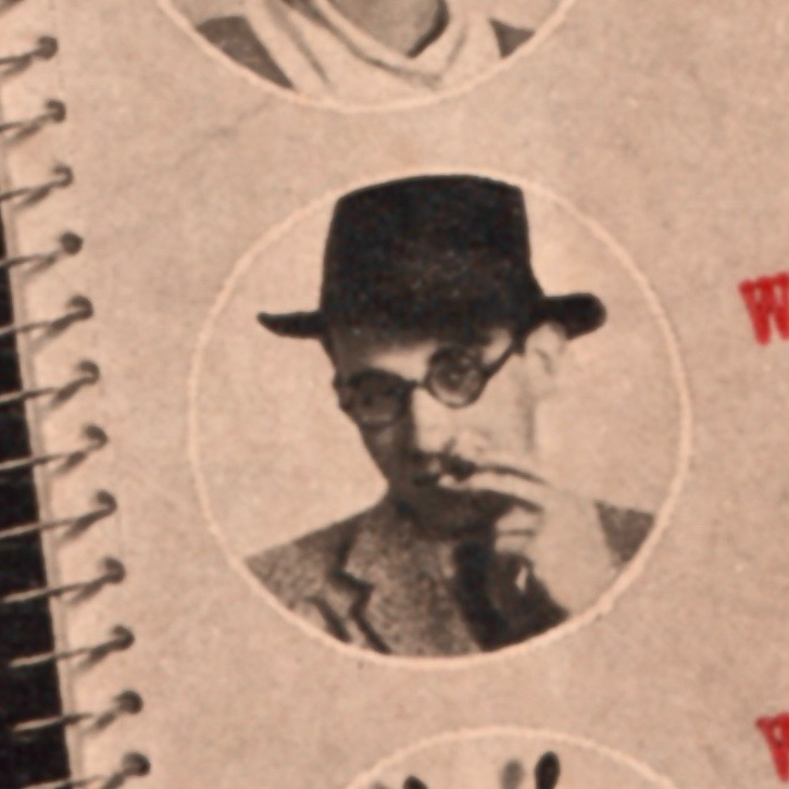 Riley Blackwood as he looks on the dust jacket of the American editions.