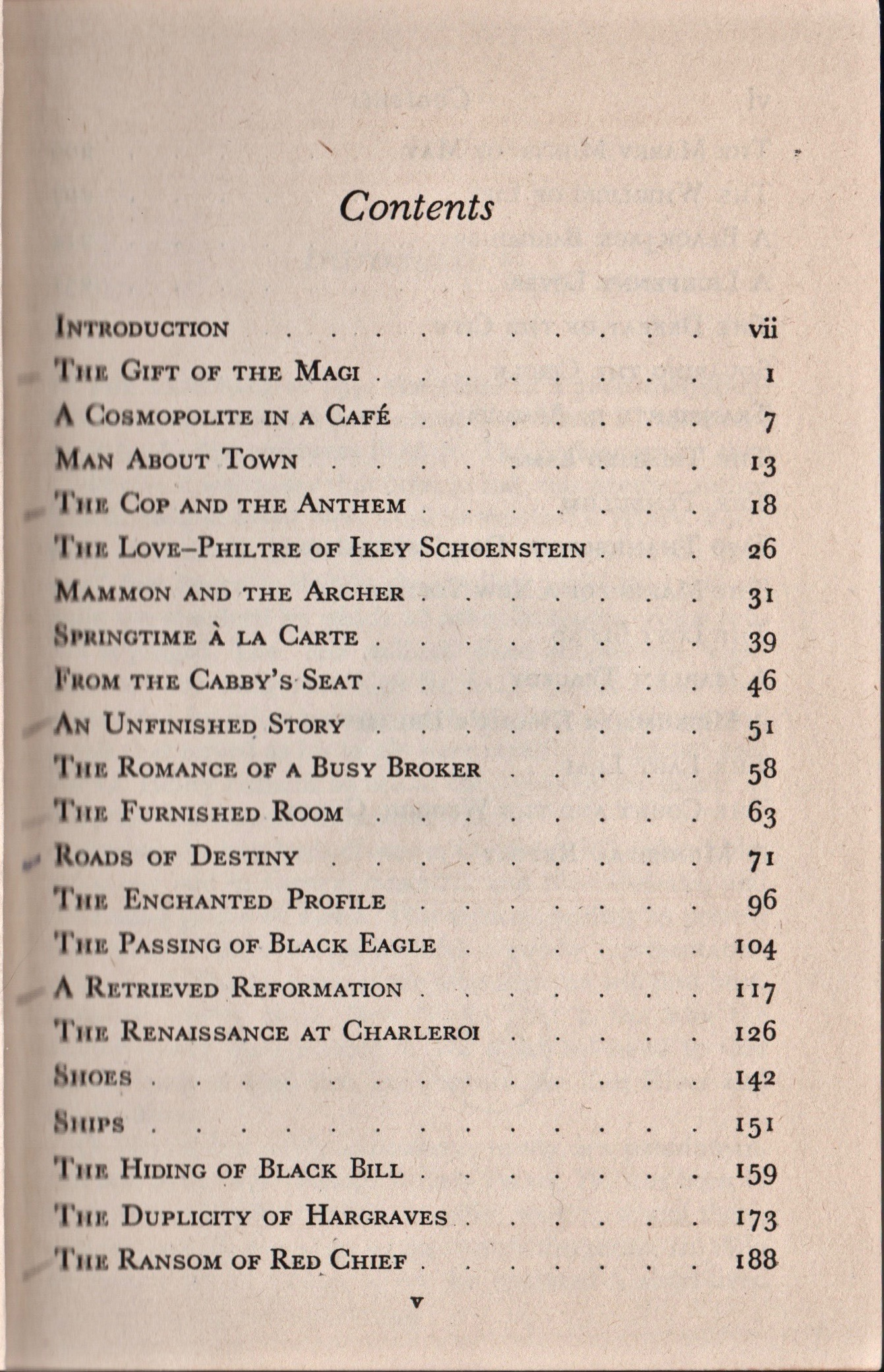Best of O. Henry Table of Contents 1.jpg