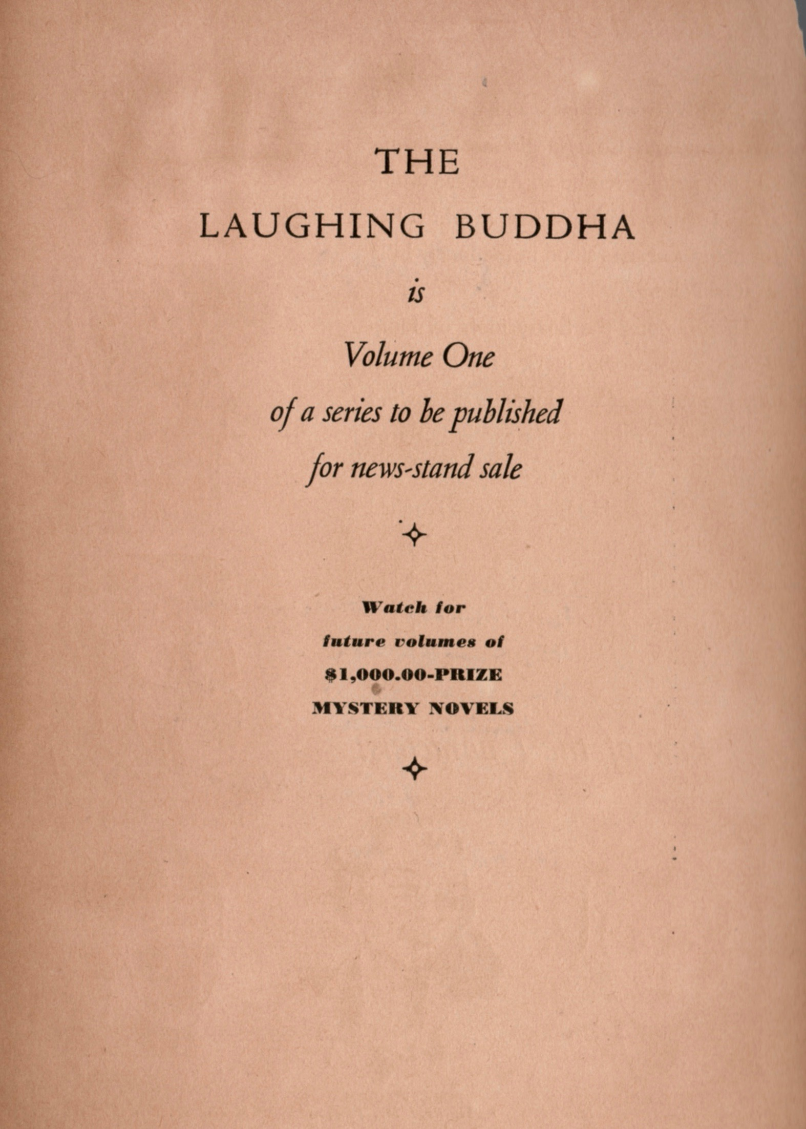 Laughing Buddha title and half title.jpg