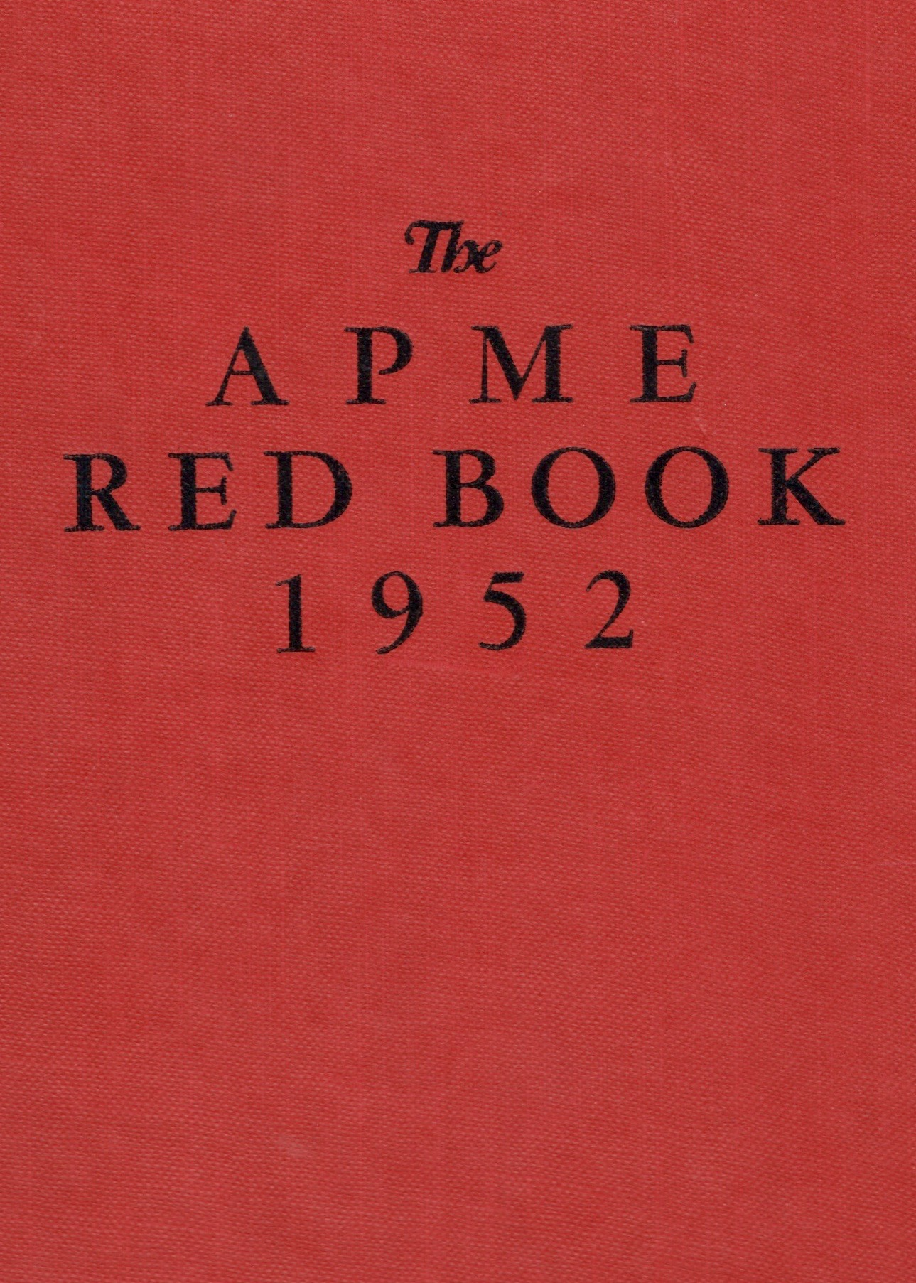 APME Red Book 1952 cover.jpeg