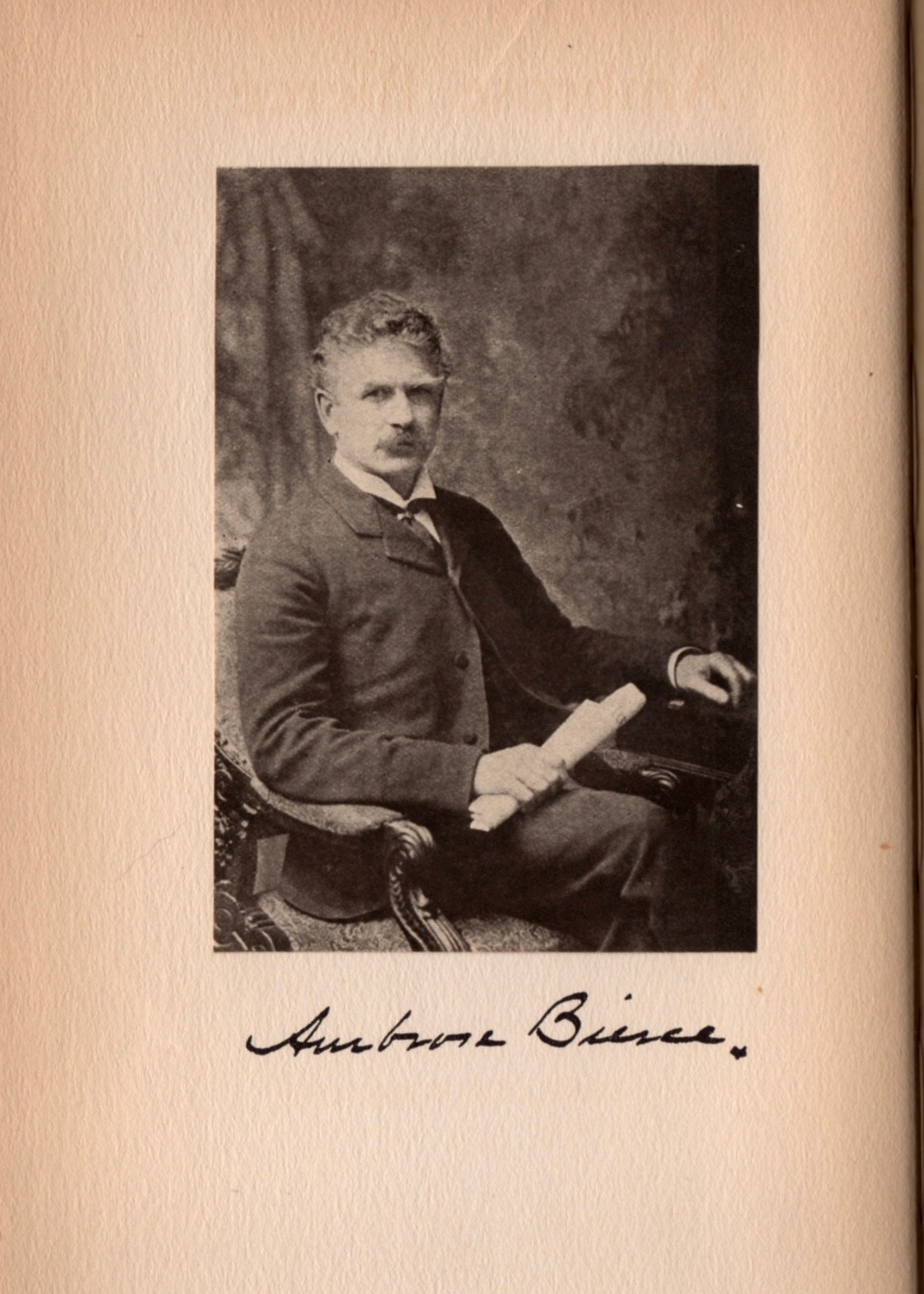 And a photo of Bierce himself. There's more about Bierce and Starrett  here .