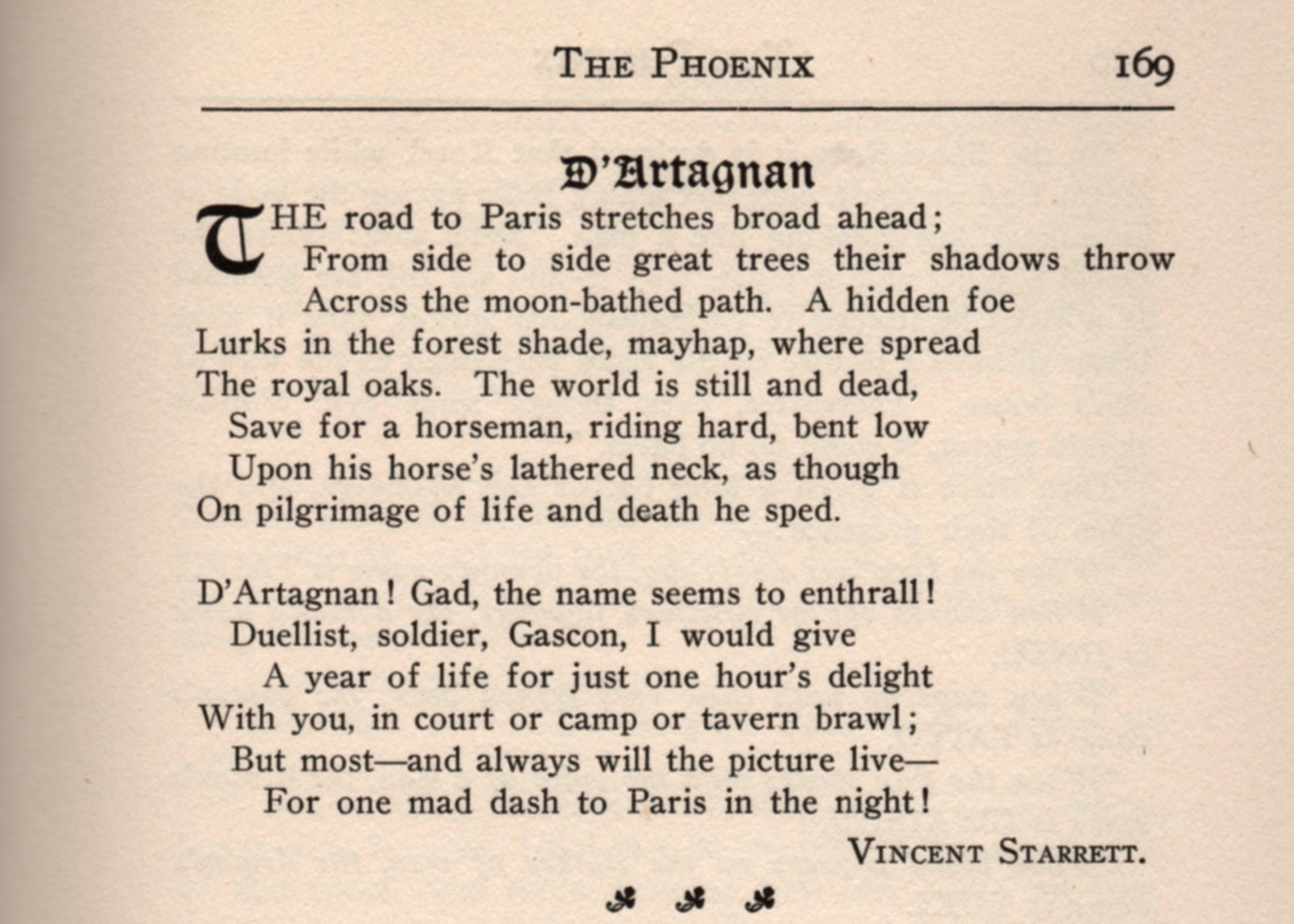 From the November 1920 issue of  The Phoenix , page 169.