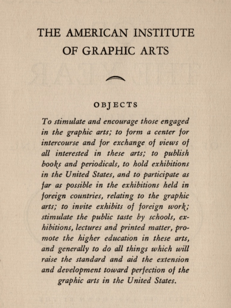 """""""(T)o hold exhibitions in the United States"""" including an exhibition of their 50 books of 1930."""