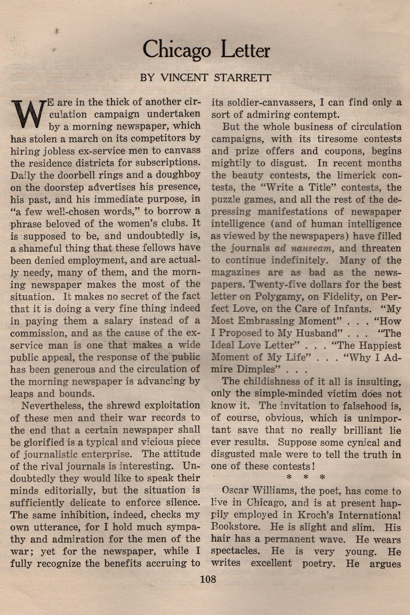 Double Dealer Aug:Sept 1921 Chicago Letter Starrett.jpeg