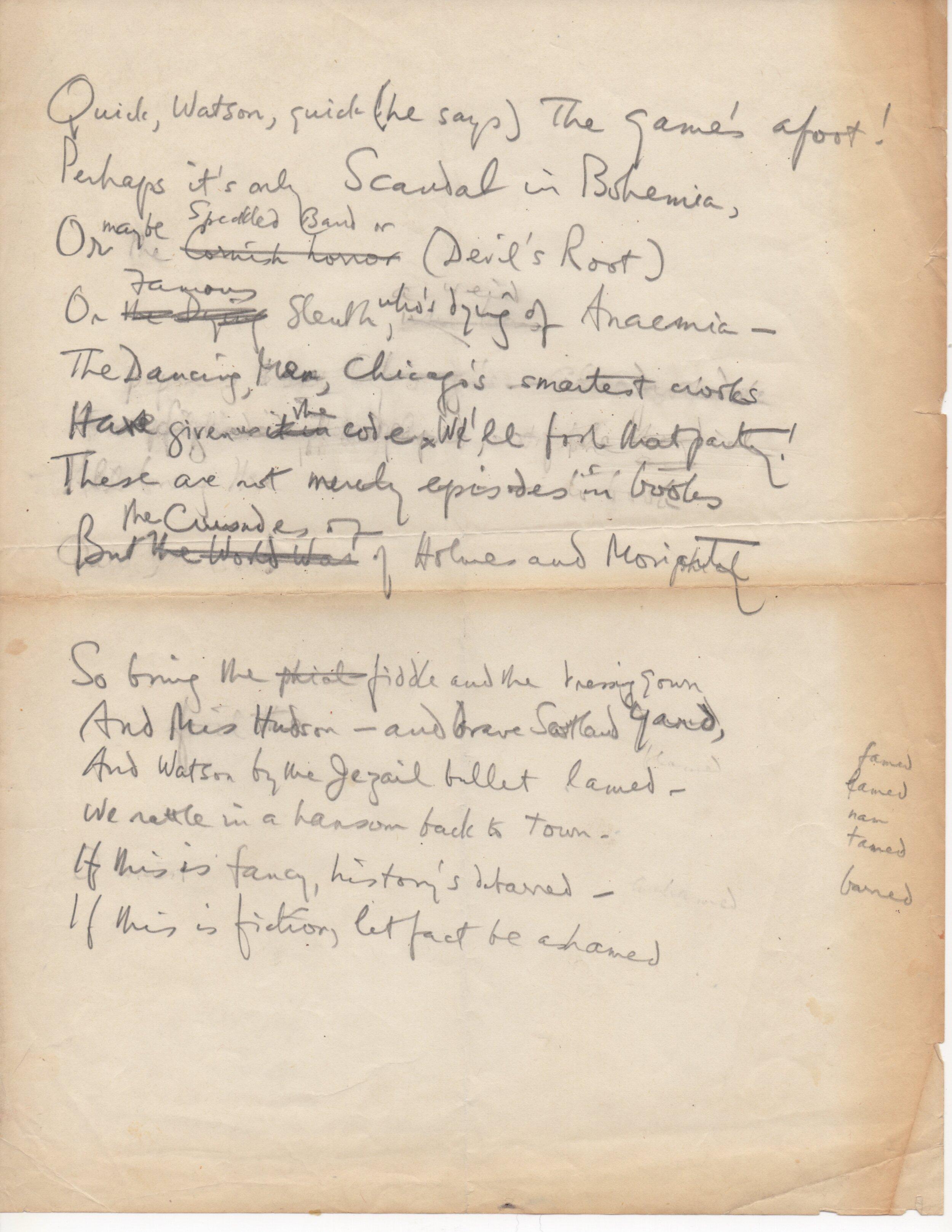 Sherlock Holmes Sonnet draft.jpeg