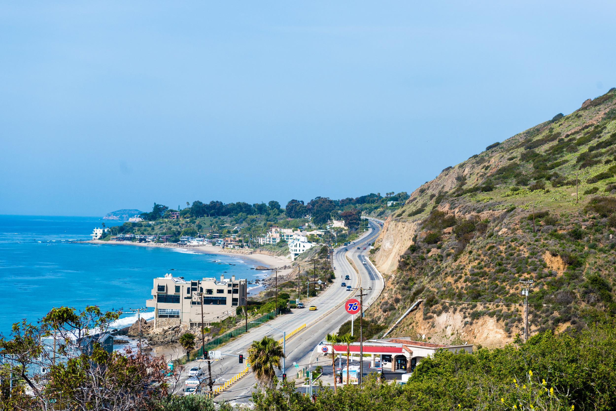 PCH in Malibu, California