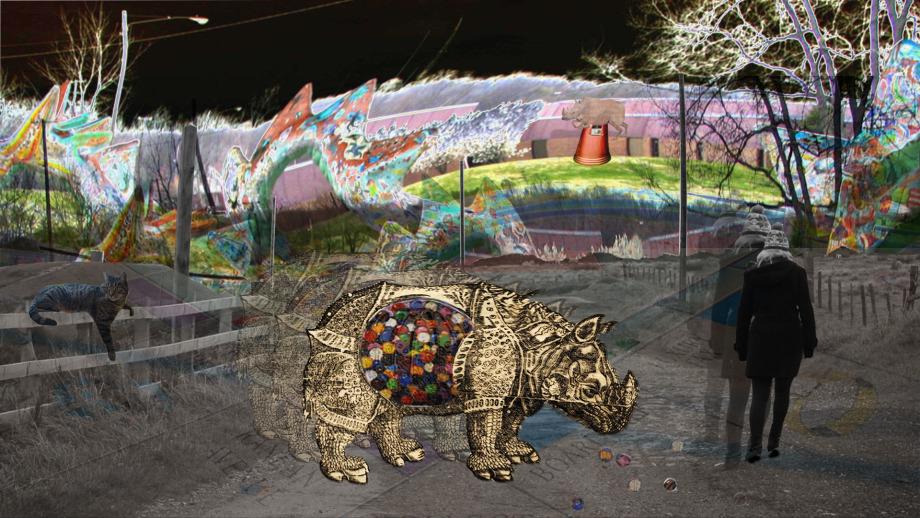 Lauren Oujo, Photoshop Surrealist Collage